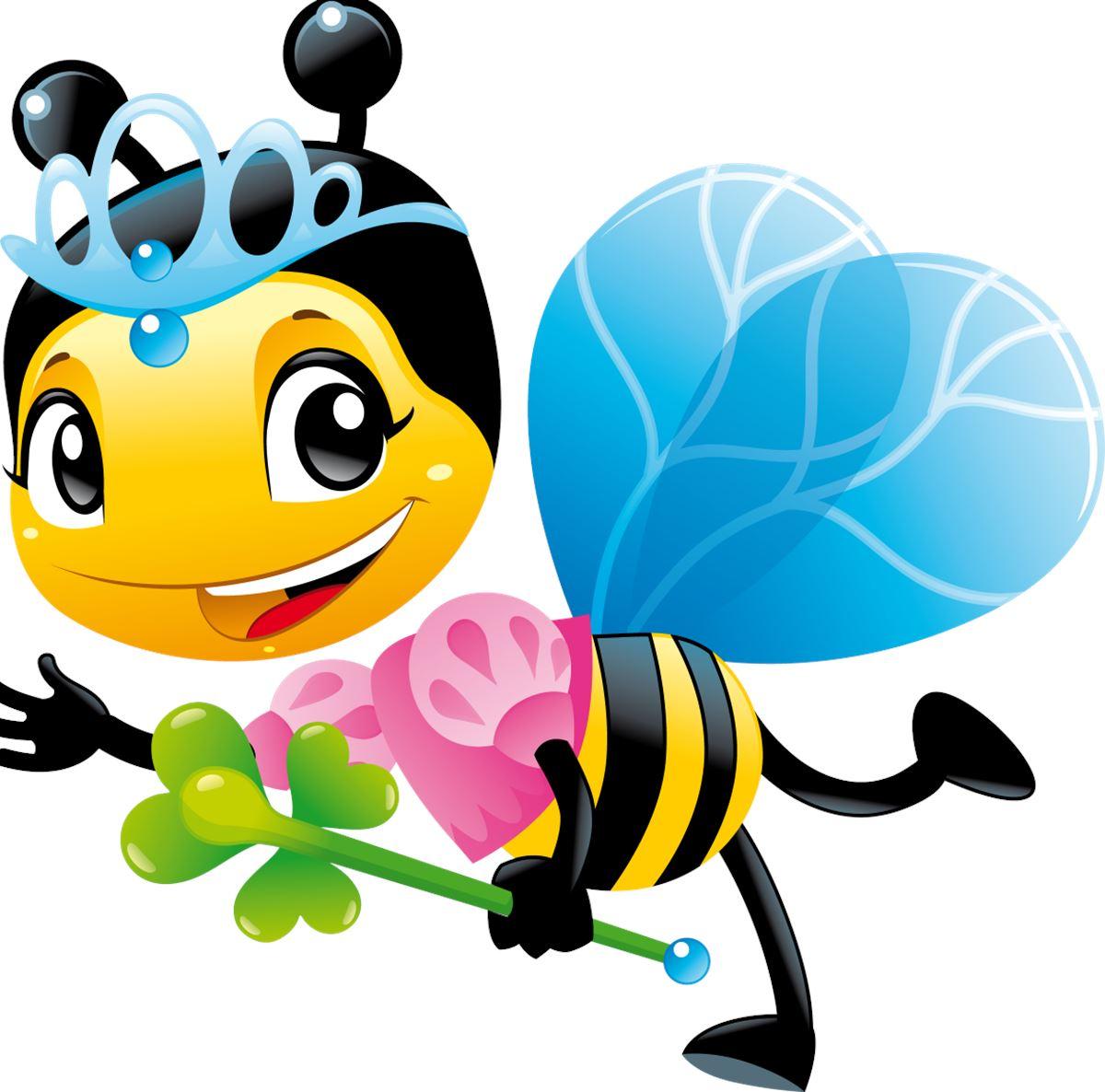 adesivi murali ape regina leostickers